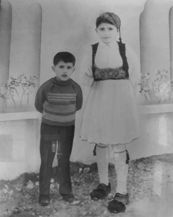Mavroudis Family History