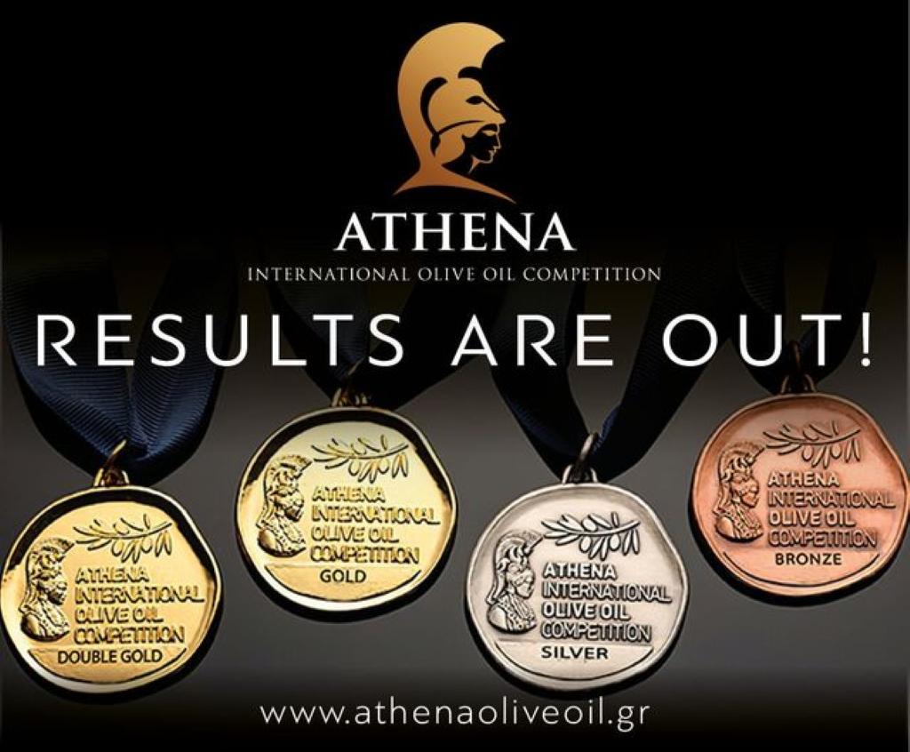 Phenomenal awarding for Greek oil.